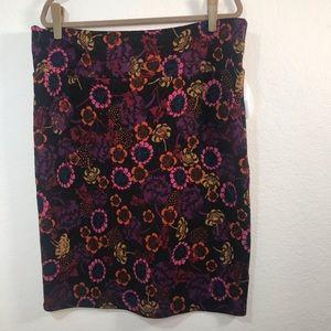 LuLaRoe Cassie Womens Pencil Skirt Size 3X